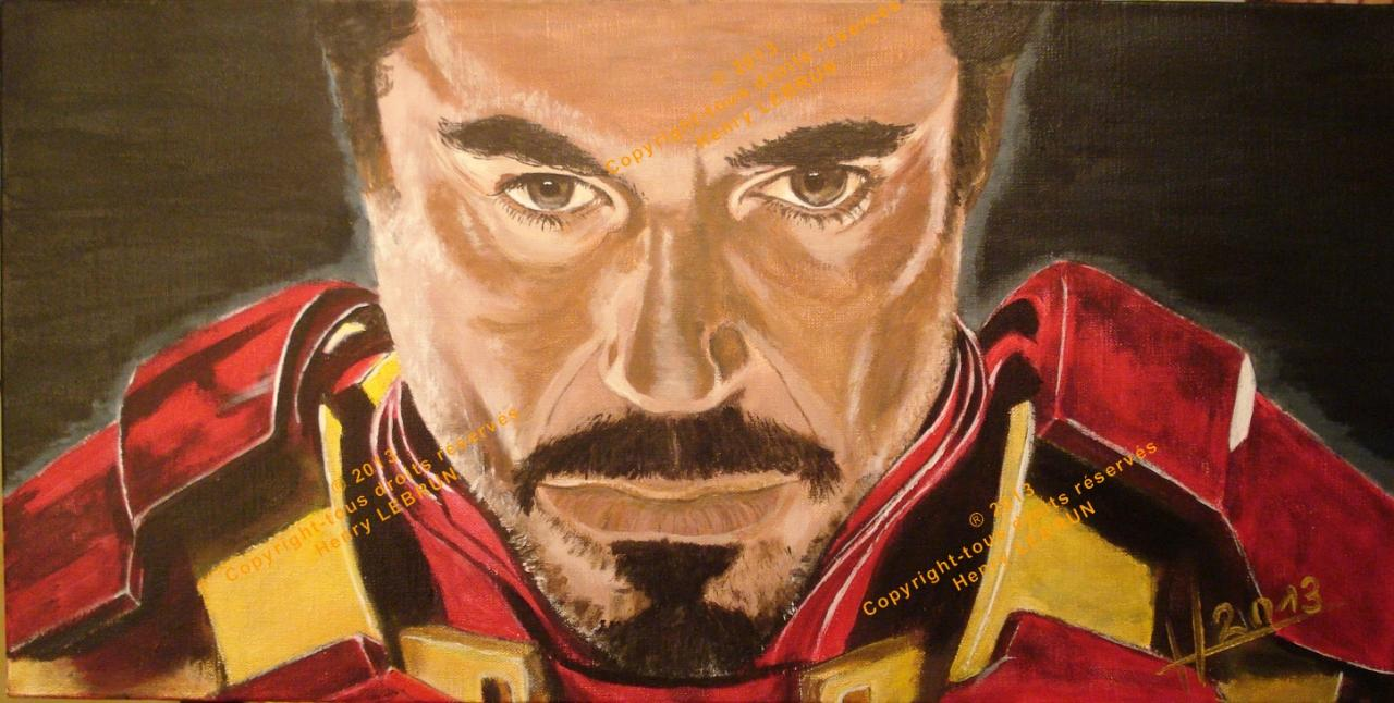IRON MAN-Robert Downey Jr.