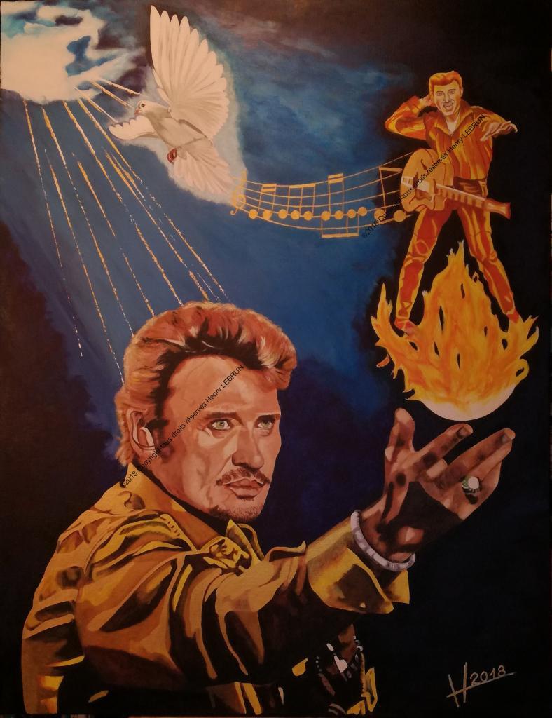 Un hommage à Monsieur Johnny-Hallyday